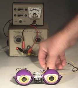 animatronices eyes and power supply